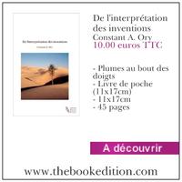 Le livre De l\'interprétation des inventions
