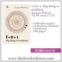 Le livre t=0+1. Big Bang et tradition