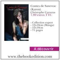 Le livre Contes de Sarerrac (Karen)