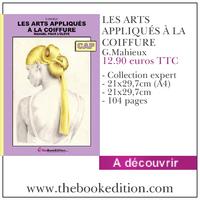 Le livre LES ARTS APPLIQUÉS À LA COIFFURE