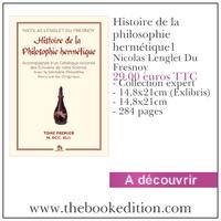 Le livre Histoire de la philosophie hermétique1