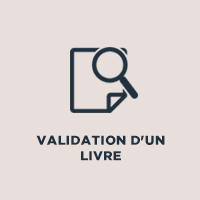 Validation d'un livre