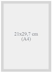 Gabarit technique d'impression de livre au format 21x29,7