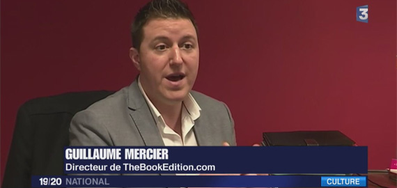 Guillaume Mercier thebookedition France 3