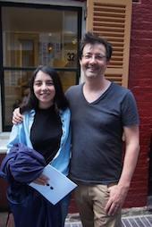 Quentin Lambert at Noelia Araya