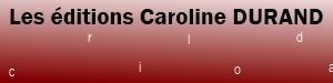Editions Caroline Durand est partenaire de TheBookEdition