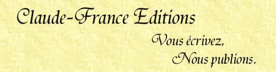 Claude France Editions est partenaire de TheBookEdition