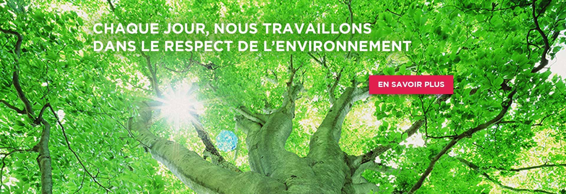 Experts en autoédition, nous travaillons dans le respect de l'environnement.