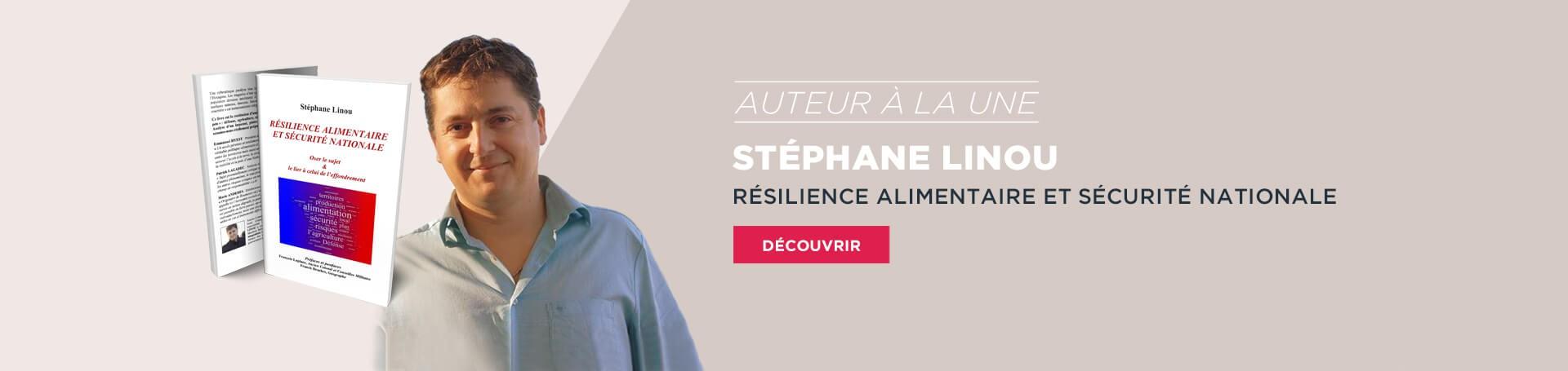 Auteur à la une - Stéphane Linou